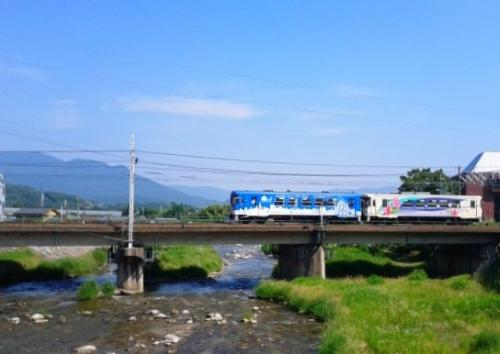 【明知鉄道】に乗って、ささゆりの湯(くしはら温泉)へ行こう~♪の旅。