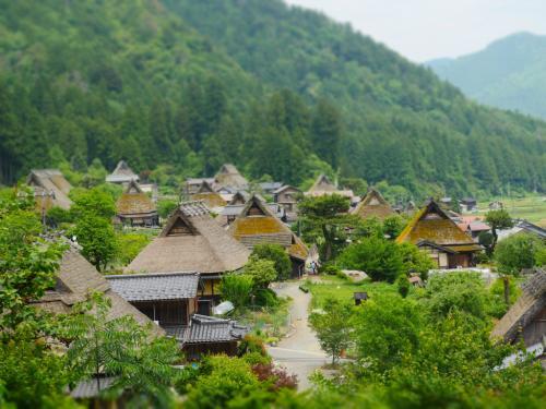 念願の京都「美山かやぶきの里」へ