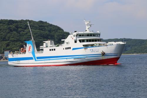 九州旅行(3)国道九四フェリーで三崎港から佐賀関へ