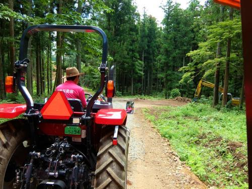 カシオペアで行った 東北の旅は 小岩井農場へ −2 トラクターバスで自然満喫ツアー編 上