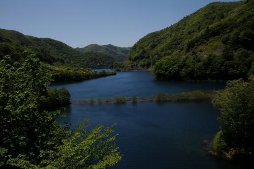 新緑の四万温泉