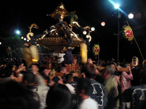 さかいふるさと祭り~境香取神社神輿渡御~を楽しむ