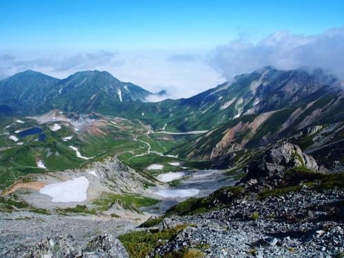 初めての北アルプス / 立山連峰ハイキング