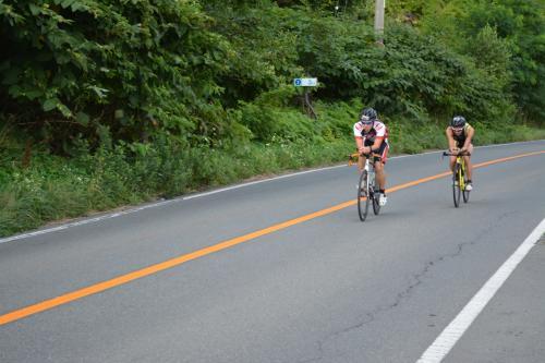 夏の終わりに洞爺湖で②アイアンマンレース北海道2015。鉄人たちの熱き挑戦。