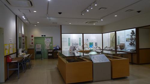 田能遺跡 資料館の見学