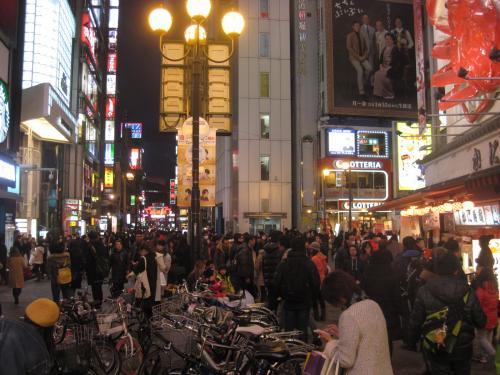 2015 久しぶりの大阪道頓堀は大陸団体さん御用達になっとりました!