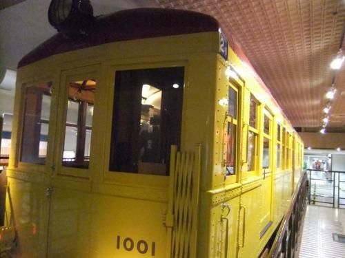 お子さんに人気の地下鉄博物館