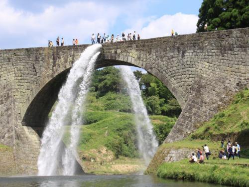 熊本プチ旅 通潤橋の放水編 3-1