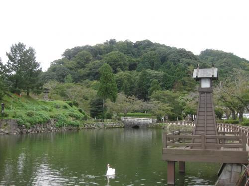 鳥取ドライブ①・鹿野城跡