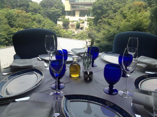 ホテル椿山荘 イル・テアトロにてランチ