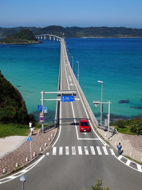 きれいな海が見たくなって、秋晴れの角島へ日帰りドライブ♪