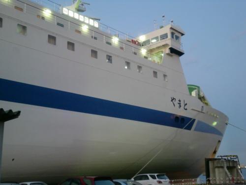 阪九フェリー やまと 神戸六甲アイランド→新門司 乗船記
