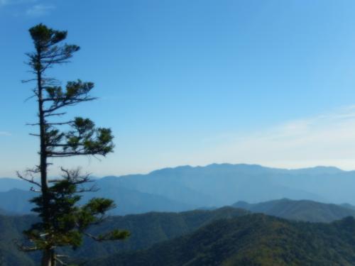 大峰山の弥山・八経ヶ岳登山