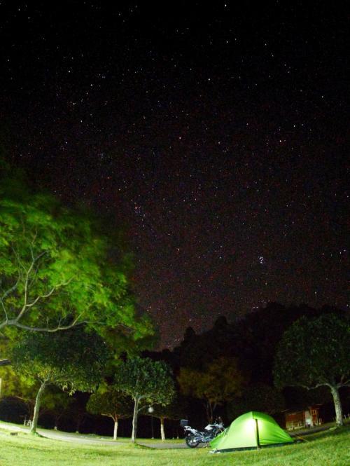 2015秋 キャンプツーリング ええ星空が撮れましたがな 孫太郎と熊野古道(ツヅラト峠)