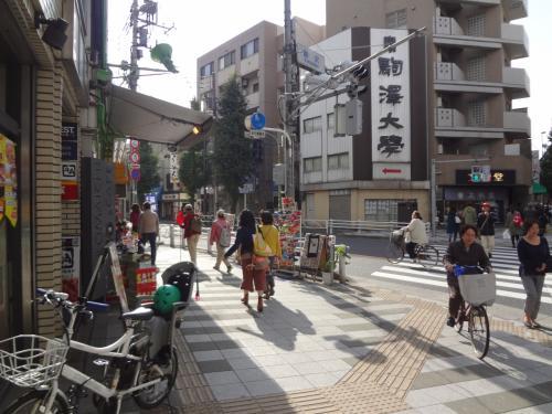子供の通う駒沢大学の学園祭に行って来ました。<br />自分の母校と違ってずいぶん都会の学校だなと思いました。<br />仏教系の大学なので立派な博物館まであってとても楽しかったです。<br /><br />駒澤大学駅 → 駒澤大学 → ゴールデンタイムズユアーズ(昼食) → 禅文化歴史博物館 →駒澤オリンピック公園