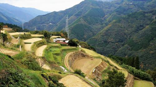 3.椎葉村周辺のスポットと棚田集落