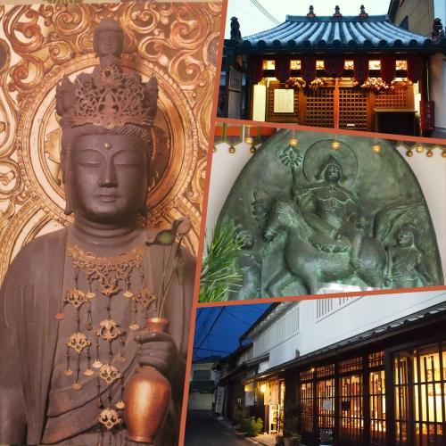 仏像に萌え~!の古都奈良ひとり旅 12 ★福智院、十輪院、夕暮れのならまち★