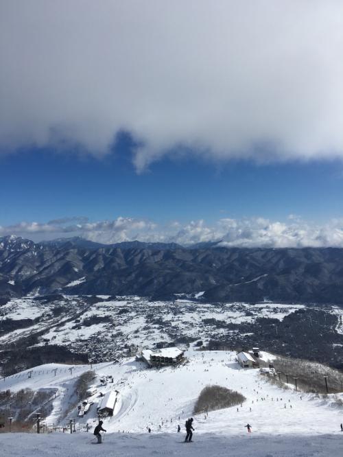 祝 2016年  元旦。白馬八方尾根は晴れたけど~やっぱり雪が少ないよね!!