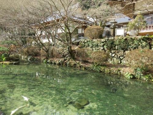 長門湯本温泉と大寧寺と音信川(おとずれがわ)
