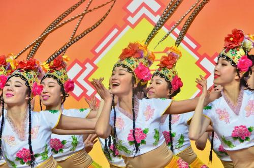 日中友好関係を深める伝統文化・第10回名古屋中国春節祭(1)