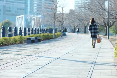 大寒波から一転しポカポカ陽気となった火曜日の午後、横浜のレトロスポットを見たくなり妻を誘ってのんびり歩いてきました。<br /><br />我が家からは渋滞なしで40分ほど。<br />意外に近いので、思いついたら行ける距離なんです。<br /><br />==おもな散歩スポット==<br />横浜開港資料館<br />横浜市開港記念会館<br />赤レンガ倉庫<br />汽車道<br />馬車道<br />馬車道十番館