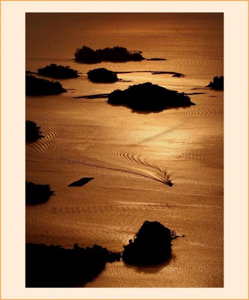 Solitary Journey [1688] 美しき天然♪石岳展望台から望む九十九島に沈む夕陽<ぐるっと九州上半分♪年末年始車旅>長崎県佐世保市