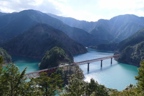 大井川鉄道 乗り鉄[SL・アプト式]と夢の吊り橋[寸又峡]