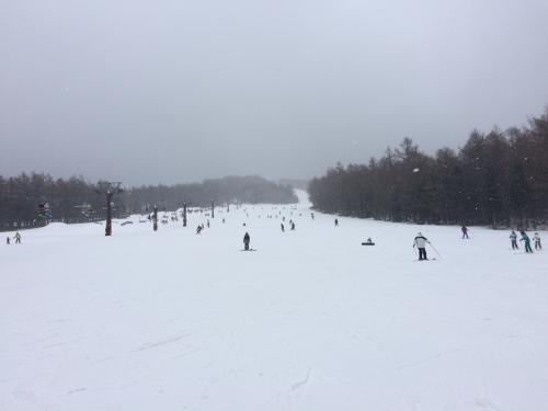 2016年日帰りスキーツアー 湯の丸スキー場
