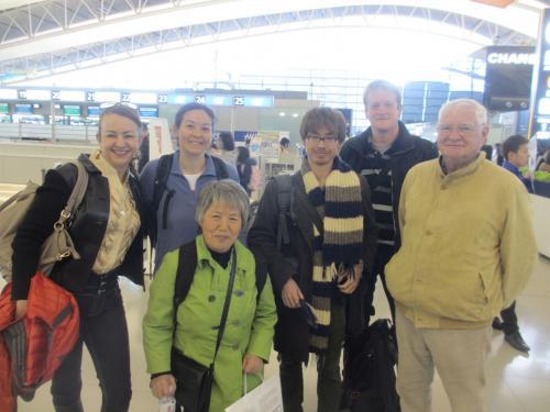 従兄弟たちがドイツ&スイスに帰って行った