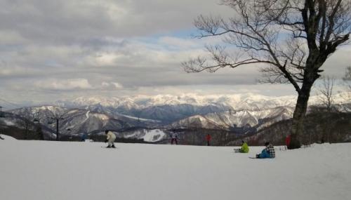春スキー かぐらみつまた
