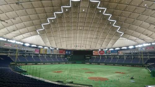 2016年5月 東京ドーム♪大興奮の東京ドーム見学ツアーと野球観戦♪