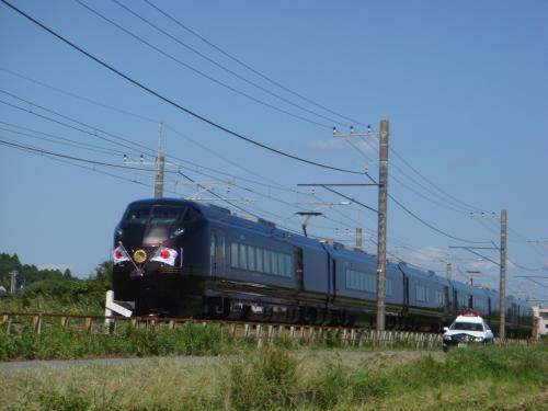 2010年千葉国体 お召し列車を撮りに行く