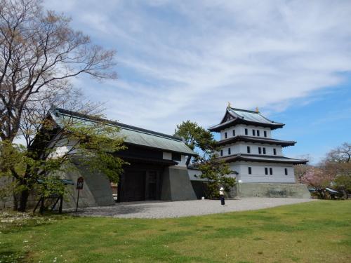 日本100名城巡り 北海道編 ② 開陽丸(江差)、松前城、函館