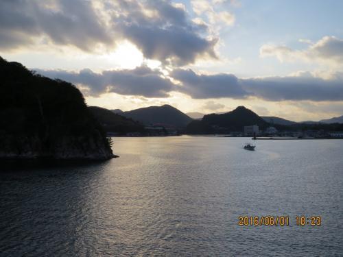 数十年振りに故郷へ帰る、隠岐の島・島後