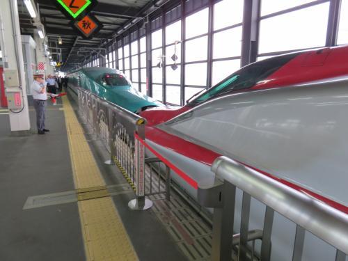 フルムーン切符で秋田市初訪問