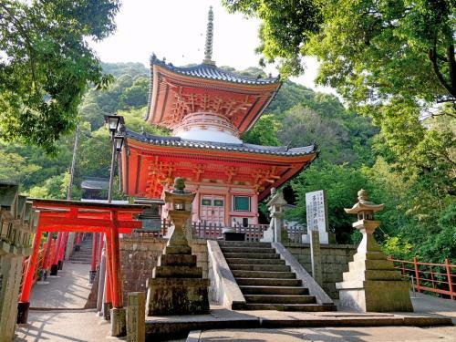 京都学会出張・奈良旅行3-信貴山 朝護孫子寺 伊丹空港より帰京