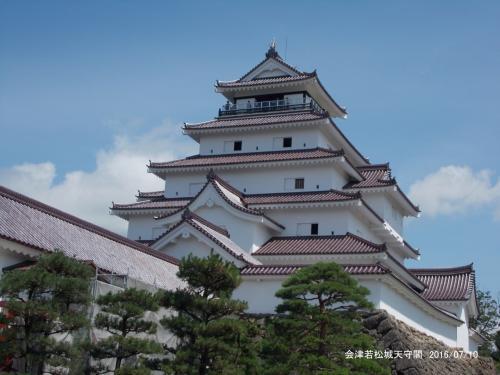 福島の100名城を訪ねて/二本松城、会津若松城、白河小峰城