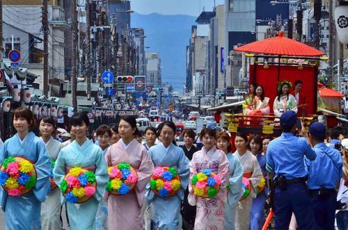 2016 祇園祭 花傘巡行(後編)