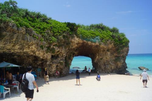 夏に熱い宮古島を一周する