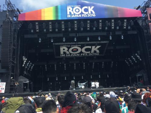 ROCK IN JAPAN FES. 2016 に行ってきました