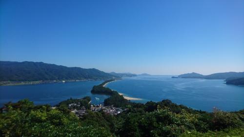 まだ行ったことがない日本三景の1つ、天橋立に行っただけでなく、<br />伊根の舟屋にも行きました。