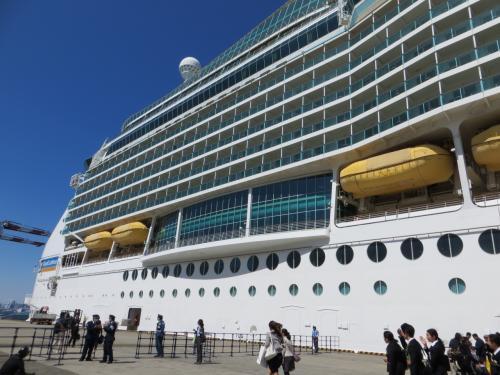 マリナー・オブ・ザ・シーズで巡る 台湾と沖縄 - Day 1 大井埠頭出港