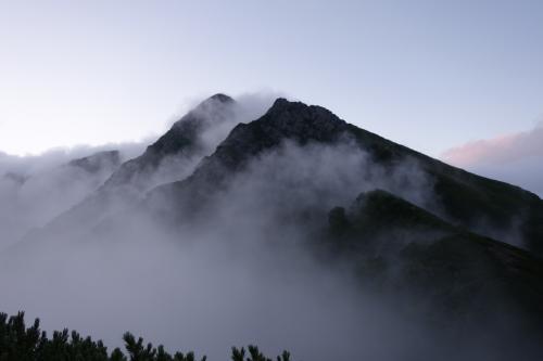 塩見岳 南アルプスの小屋泊登山