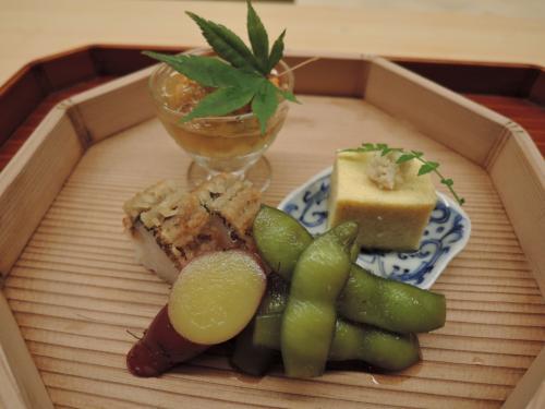 旅先の美味しいもの 小田原 円相の懐石料理 2016年8月