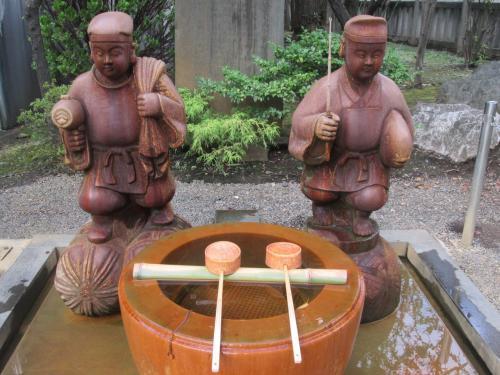 東京・亀戸の散策(亀戸駅から亀戸梅屋敷・香取神社・亀戸天神へ)