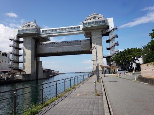沼津港大型展望水門と狩野川散歩(8kp−13.5kp)