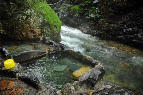 夏の終わりは上州四万の湯で