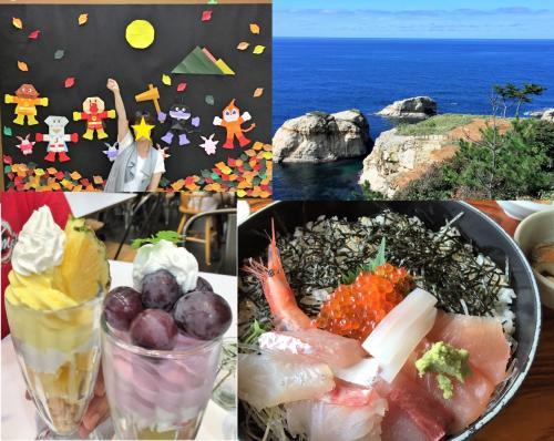 日本折紙博物館、北前船の里、加佐の岬を巡る旅!加賀パフェ食べる?!