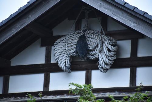 羽黒山魔除けの引綱と月山志津温泉の旅(山形)