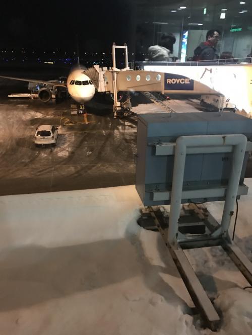 気になるお寿司が食べたくて!<br />http://4travel.jp/travelogue/11205767<br />成田国際空港に初めて訪れた後は、一路北海道へ。<br /><br />寒波の影響で、青森や新潟など日本海側が大変な状態ですが、そんな日にフライト予約をしていたとはいえ、大雪と思われる北海道に向かう私はどうなんでしょうか?また果たしてどうなるのでしょうか?<br /><br />千歳で一泊して翌日には伊丹に帰る予定の飛行機旅、果たしてどうなったのやら。。。
